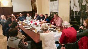 Sitzung des Ortsvereins Ost
