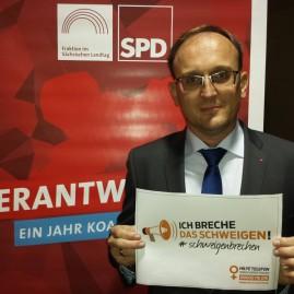 Jörg Vieweg, MdL und Vorsitzender der AGS Sachsen