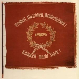 ADAV-Fahne 1873