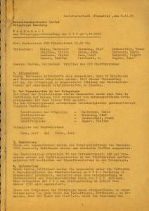 Protokoll vom 7.12.1989