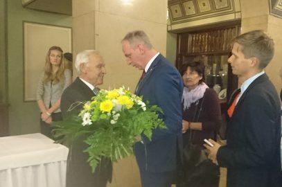 Dr. Peter Seifert ist Ehrenbürger der Stadt Chemnitz