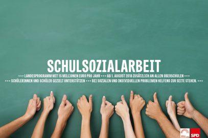 SPD stärkt Schulsozialarbeit im Freistaat