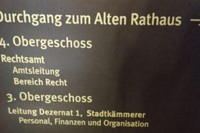 Erfolgreiche Haushaltspolitik in Chemnitz