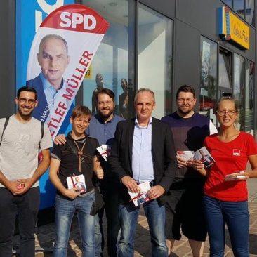 Infostand Bundestagswahl 2017