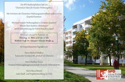 Chemnitzer Ideen für Sozialen Wohnungsbau – SPD-Fraktion diskutiert