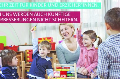 Mehr Zeit für Kinder und Erzierher*innen